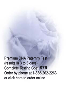 DNA Paternity Test